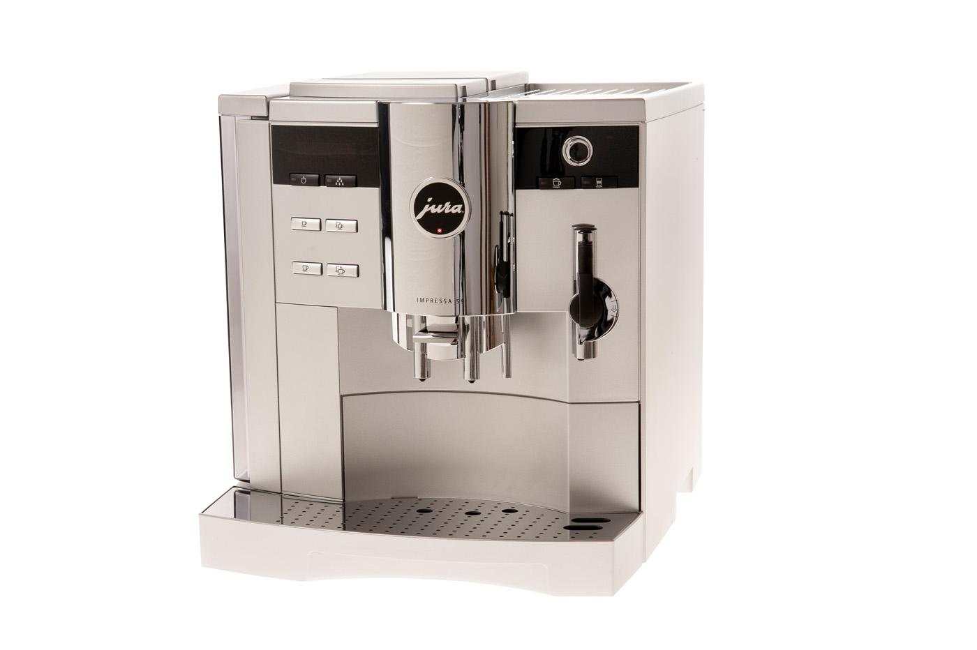 Jura koffiemachine, hoogwaardige productfotografie
