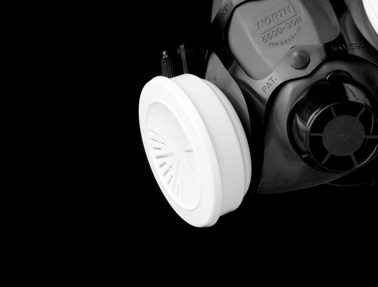 North 5500 - 30M half gelaatsmasker