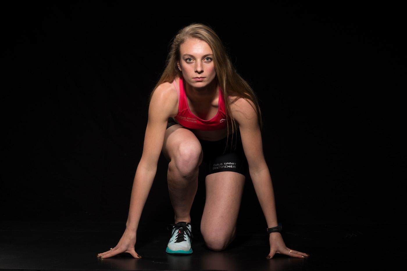 Sabrine Vels, sportster, atletiek