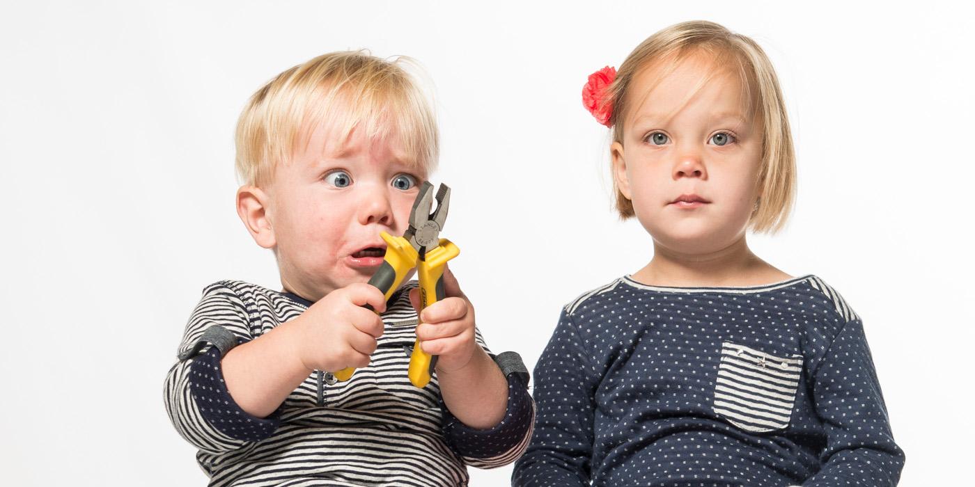 portret broer en zus, kinderportret