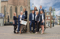Teamfoto Ten Hag makelaars Doetinchem binnenstad